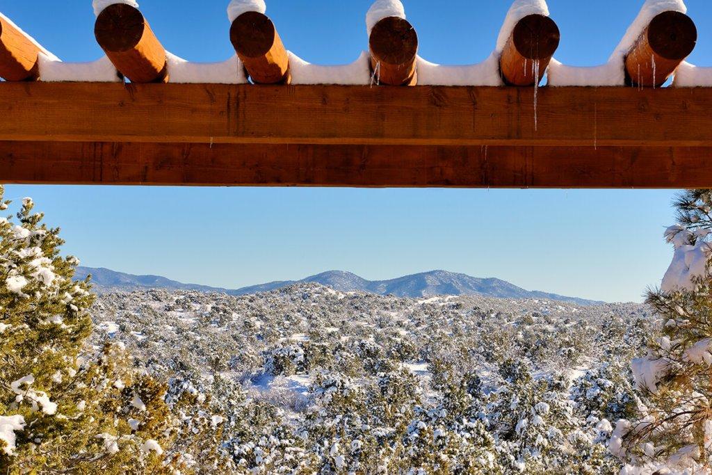 Santa Fe Winter Landscape