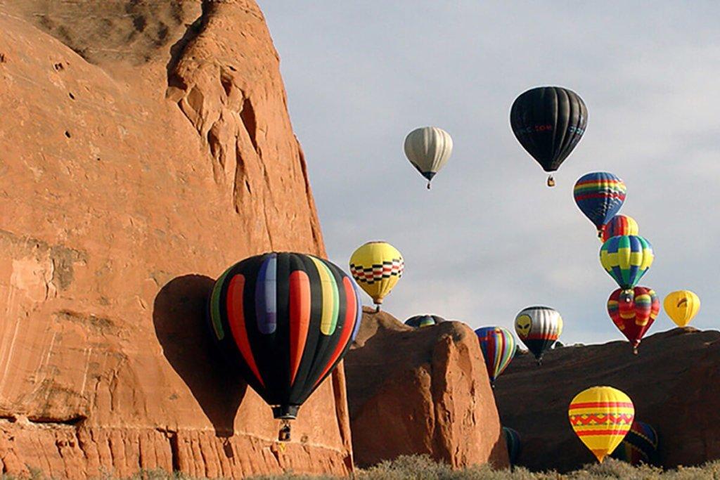 Santa Fe Red Rock Balloon