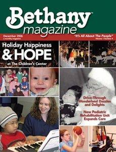 Bethany Magazine Five Graces
