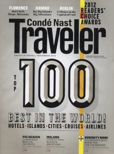 Conde Nast Readers Choice Five Graces