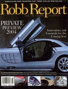 Robb Report Five Graces