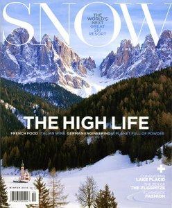 Snow Magazine Five Graces