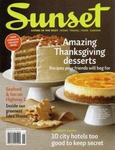Sunset Magazine Five Graces